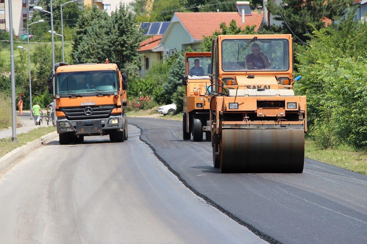 asfaltiranje 2018 - 2